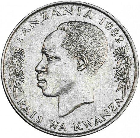 купить Танзания 1 шиллинг 1982