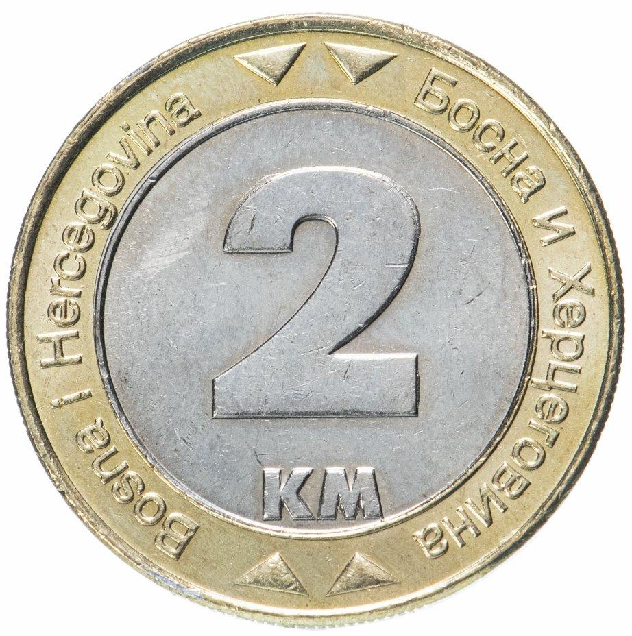 купить Босния и Герцеговина 2 марки (км, marke) 2003
