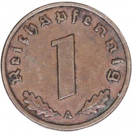 купить Третий Рейх 1 рейхспфенниг 1939