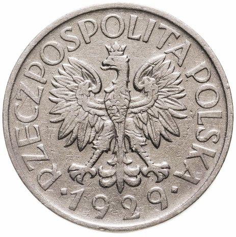 купить Польша 1 злотый (zloty) 1929