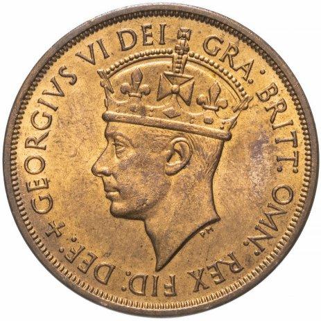 купить Джерси 1/12 шиллинга 1954 «Освобождение» портрет Георга