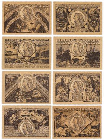 купить Германия (Тюрингия: Шлейц) набор из 8 нотгельдов 1921