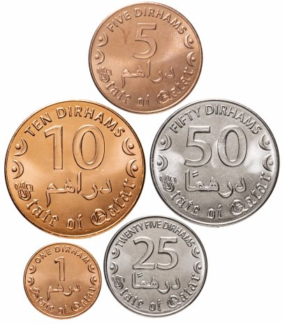 купить Катар набор монет 2016 (5 штук)