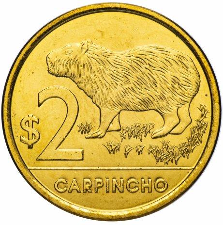 купить Уругвай 2 песо 2012