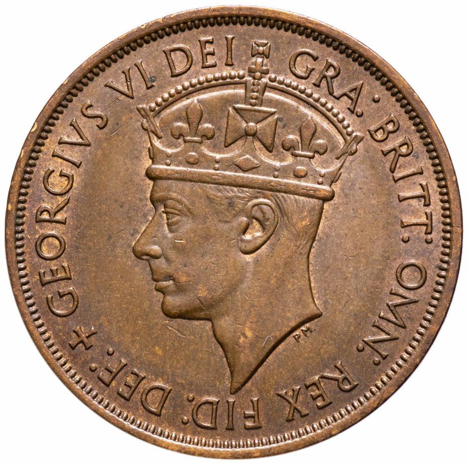 """купить Джерси 1/12 шиллинга 1949-1952 (без даты) """"Освобождение Джерси в 1945 году"""" с портретом Георга VI"""