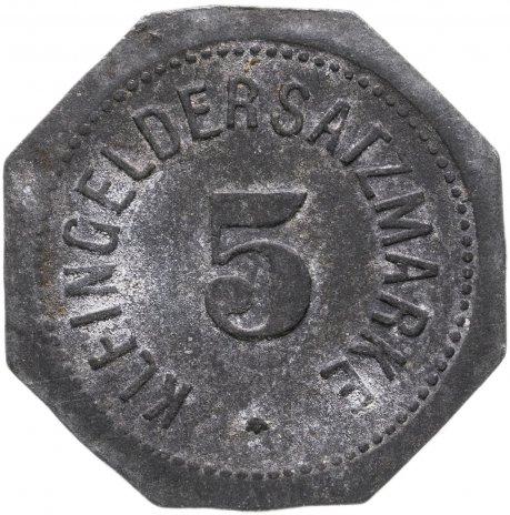 купить Германия, Майнц 5 пфенниг 1917