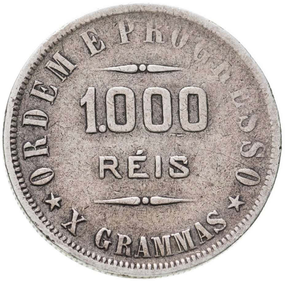 купить Бразилия 1000 рейс (reis) 1906