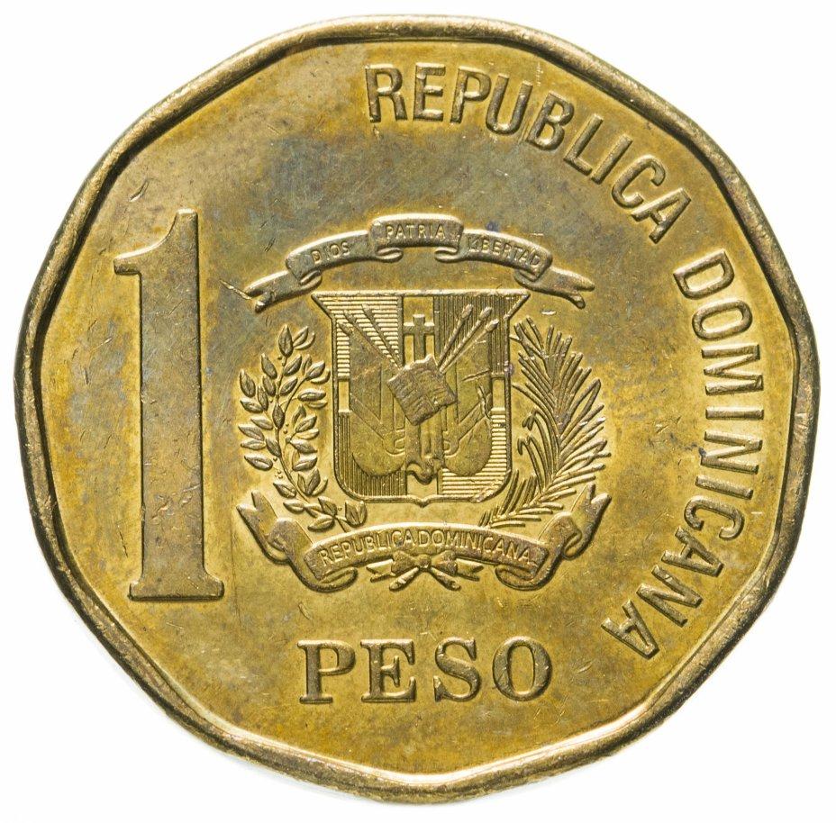 купить Доминикана 1 песо (peso) 2008-2016 магнетик, случайная дата