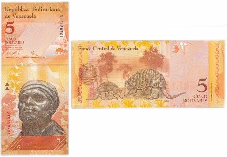 купить Венесуэла 5 боливар 2007 (Pick 89а) 20.03.2007