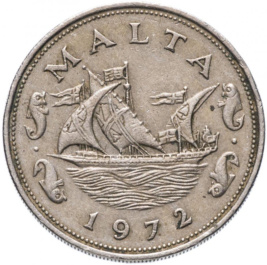 купить Мальта 10 центов (cents) 1972