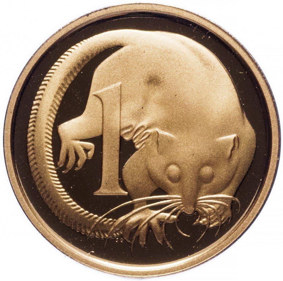 купить Австралия 1 цент 1989 Proof