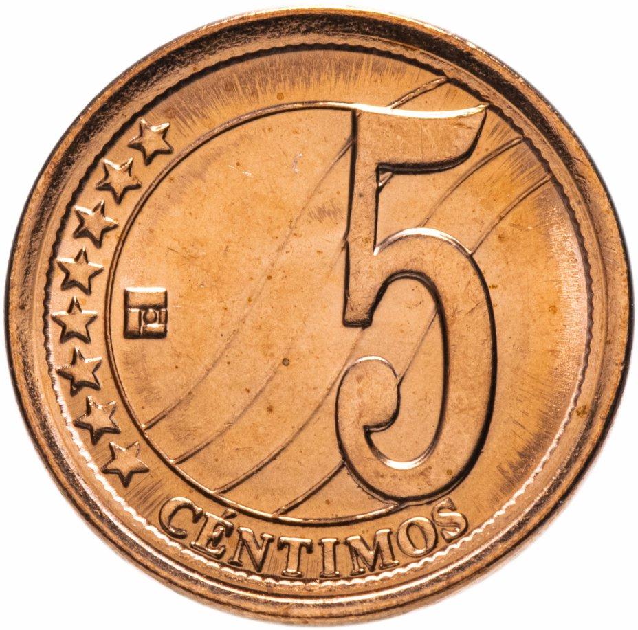 купить Венесуэла 5 сентимо (centimos) 2009