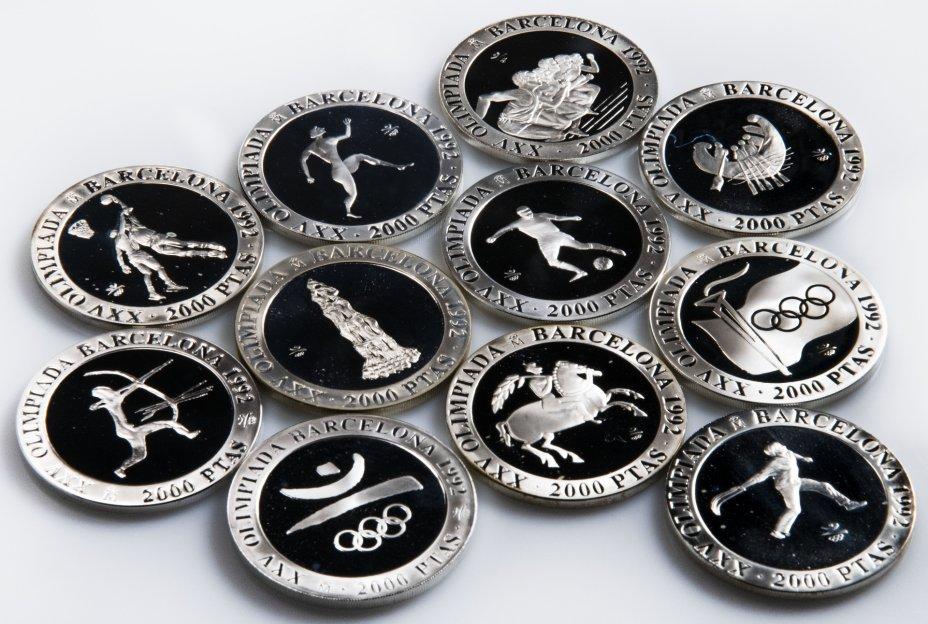 """купить Испания 2000 песет 1990-1992 случайная монета из серии """"XXV Олимпиада 1992 г. в Барселоне"""""""