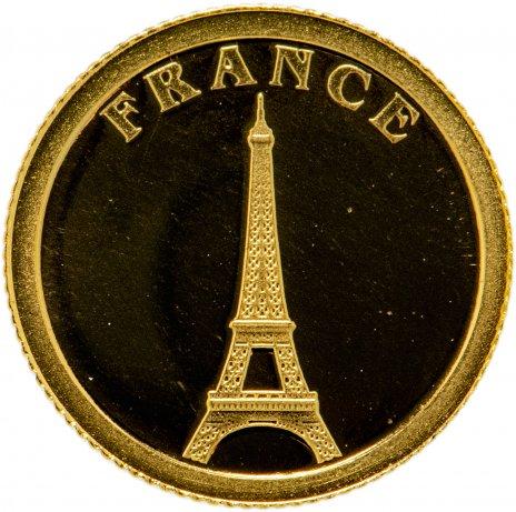 """купить Либерия 12 долларов 2008 """"Европейские страны - Франция"""""""