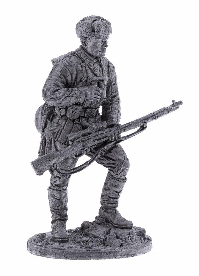 купить Оловянный солдатик, Снайпер 1047-го стрелкового полка Зайцев В, Россия, 2021