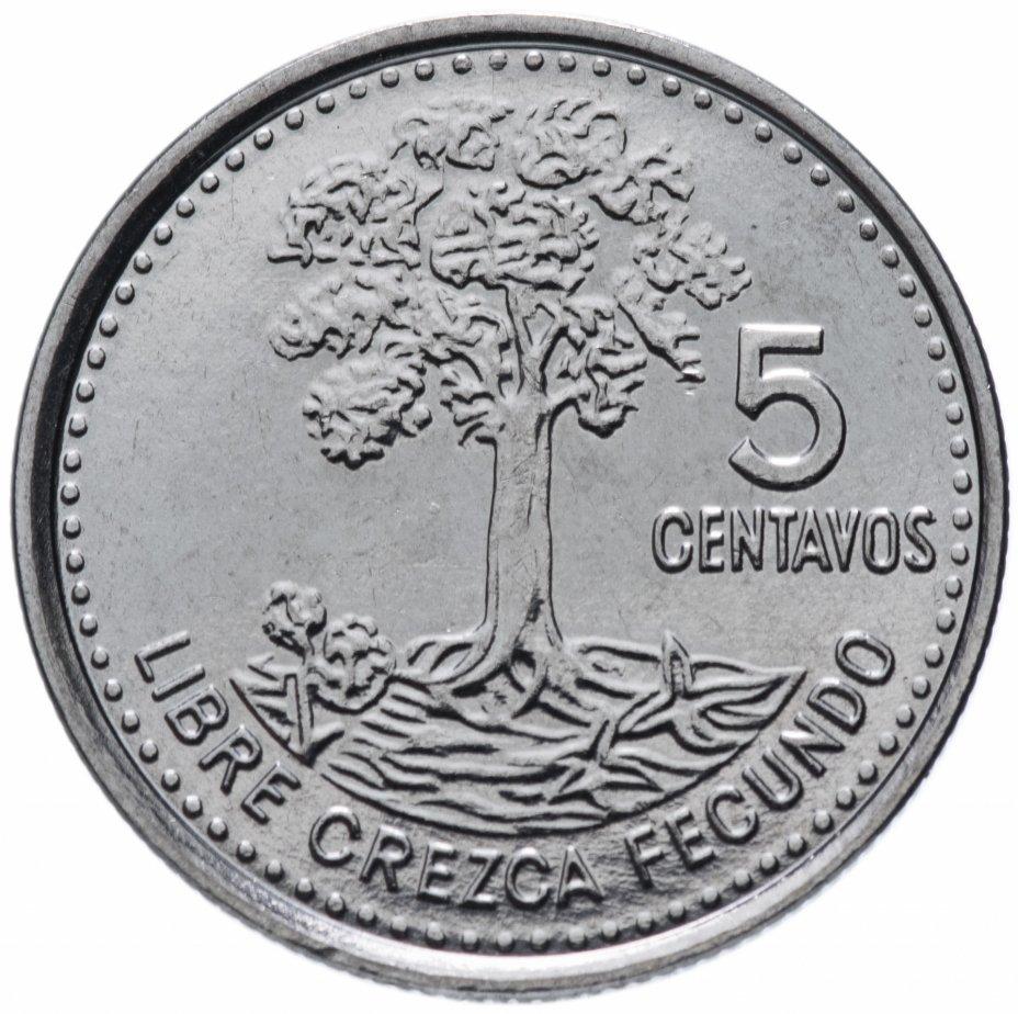 купить Гватемала 5 сентаво (centavos) 2009-2016 магнетик, случайная дата
