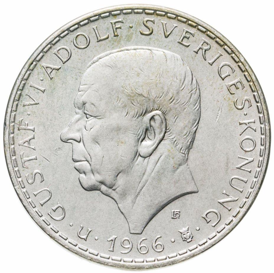купить Швеция 5крон (kronor) 1966  100 лет Конституционной реформе