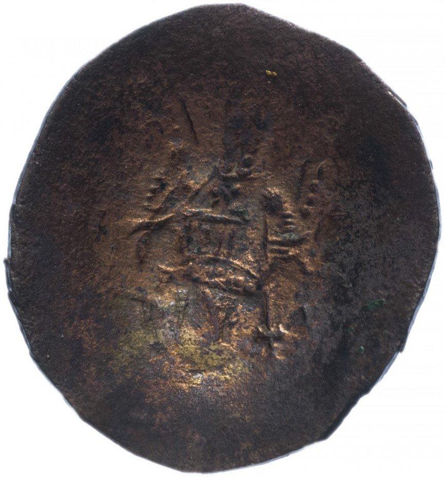 купить Византия, Исаак II Ангел 1185–1195 гг аспрон трахи, сцефатная