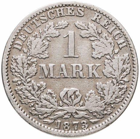 """купить Германия 1 марка (mark) 1873 A  знак монетного двора: """"A"""" - Берлин"""