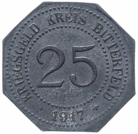 купить Германия, Саксония, Биттерфельд 25 пфеннигов  1917 нотгельд