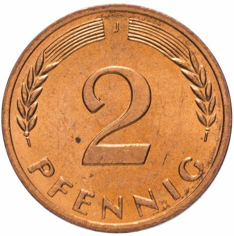 купить Западная Германия (ФРГ) 2 пфенинга 1970