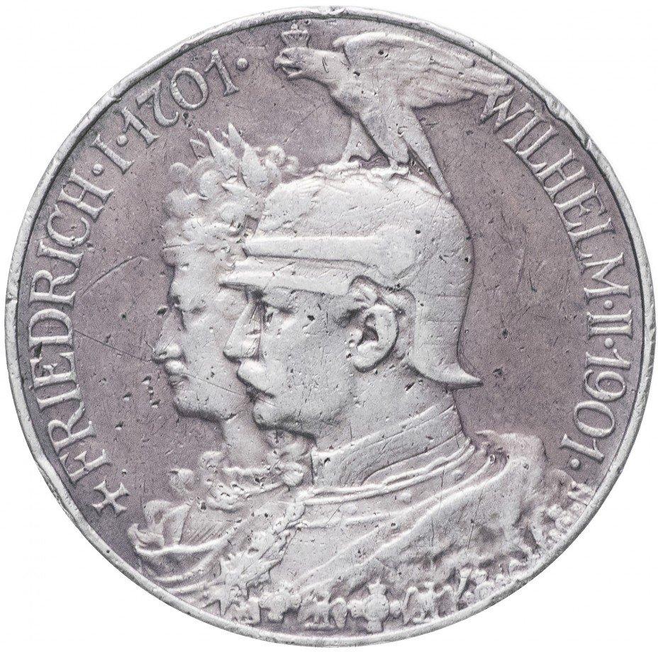 """купить Германия (Пруссия) 5 марок 1901 """"200-летие Королевства Пруссия"""""""