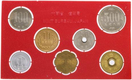купить Япония Годовой набор монет 1996 (6 монет + жетон)