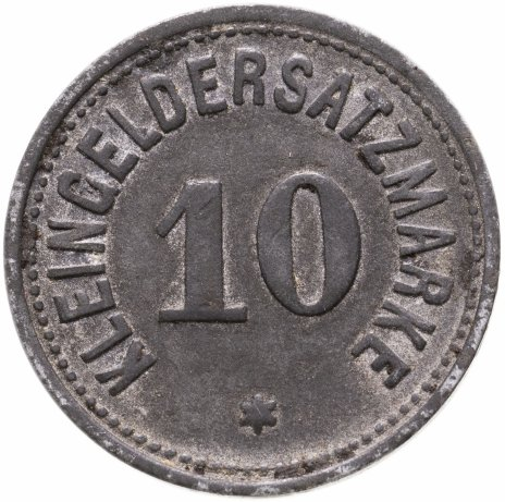 купить Германия (Дармштадт) нотгельд 10 пфеннигов 1919