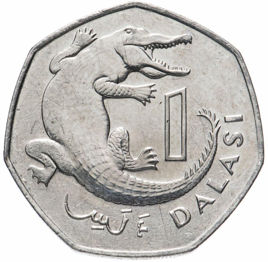 купить Гамбия 1 даласи (dalasi) 2011