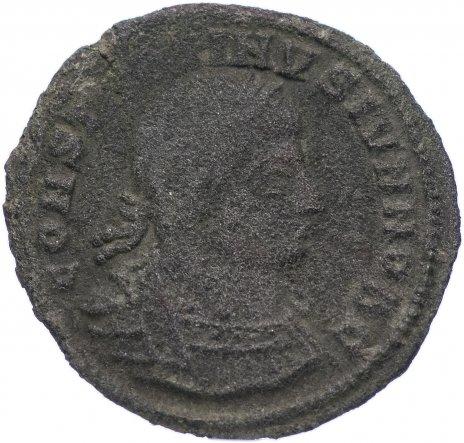 купить Римская Империя Константин II 317–340 гг фоллис (реверс: два воина стоят лицом друг к другу, между ними два штандарта)