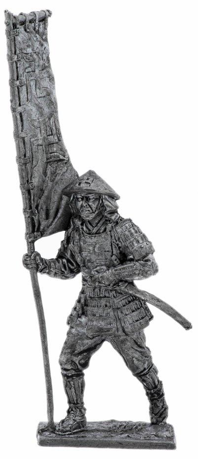 купить Оловянный солдатик, Асигару-знаменосец, 16-17 век, Россия, 2021