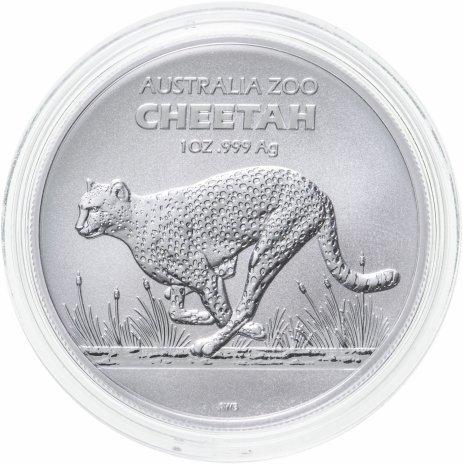 """купить Австралия 1 доллар 2021 """"Австралийский зоопарк - Гепард"""""""