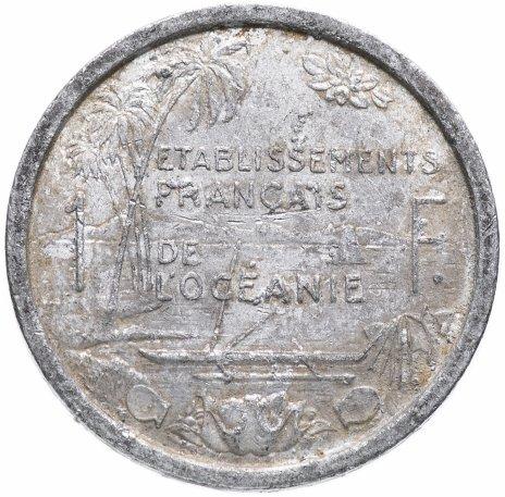 купить Французская Океания 1 франк 1949