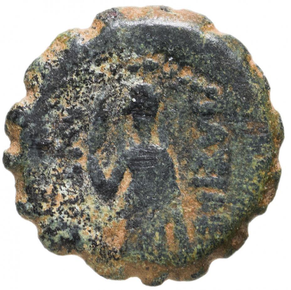 купить Государство Селевкидов, Антиох IV Эпифан, 175-164 годы до Р.Х., АЕ14. (Ake-Ptolemaïs).