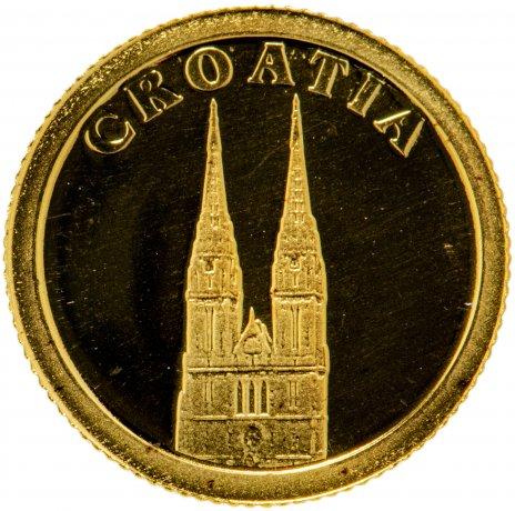 """купить Либерия 12 долларов 2008 """"Европейские страны - Хорватия"""""""