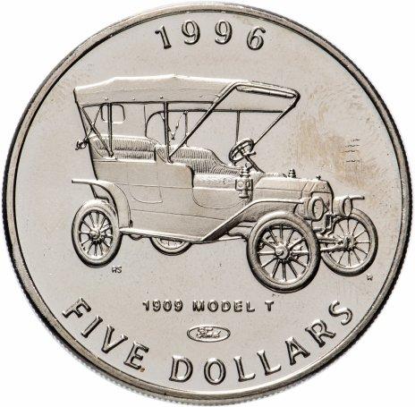 """купить Маршалловы острова 5 долларов 1996 """"Автомобиль Ford"""""""