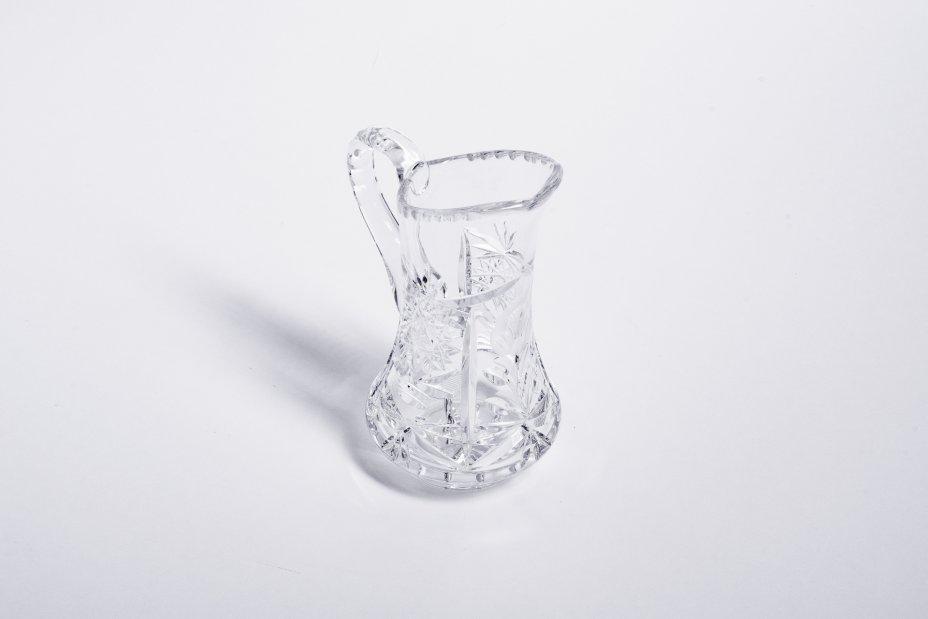 купить Вазочка выполненная в форме графина, хрусталь, алмазная грань, СССР, 1970-1990 гг.