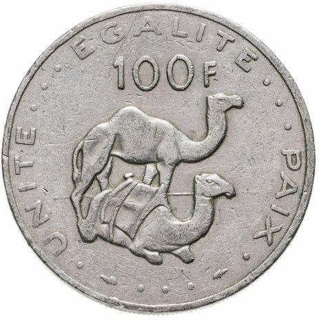 купить Джибути 100 франков (francs) 1977-2017, случайная дата