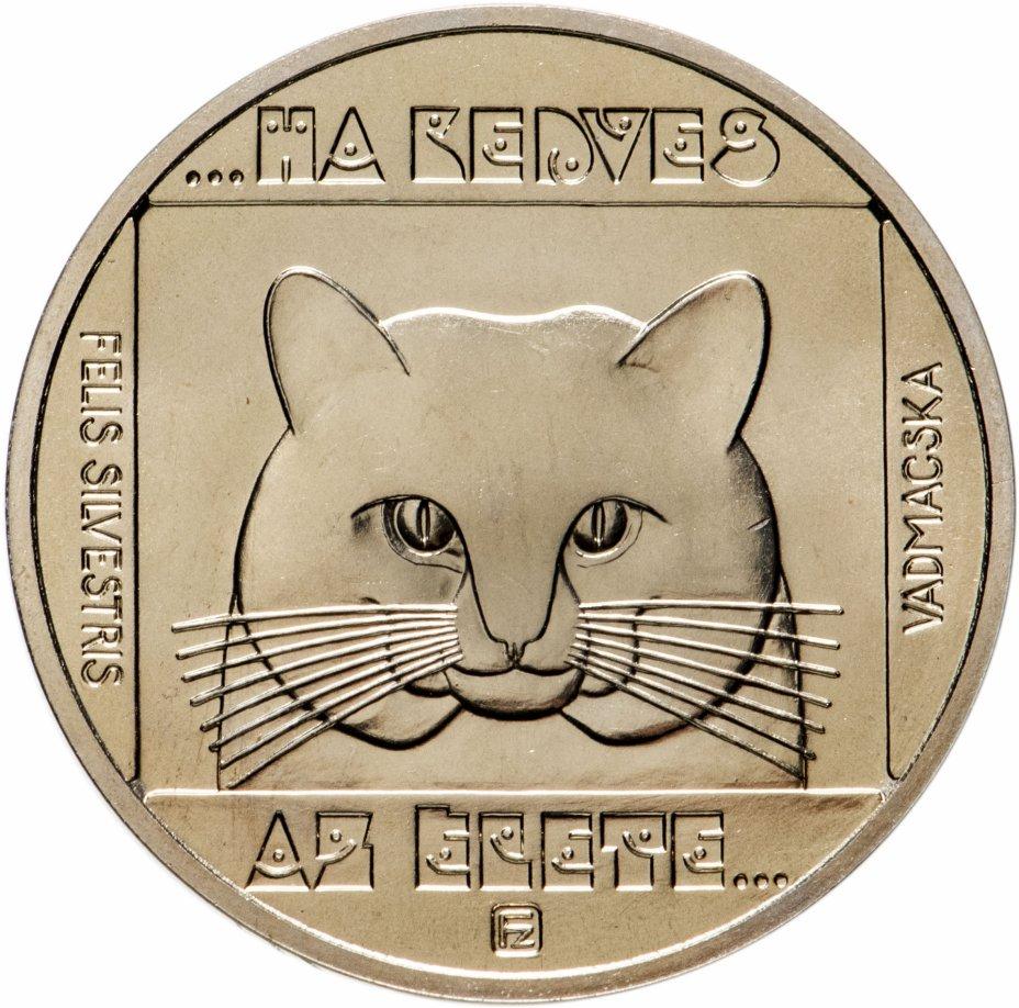 купить Венгрия 100 форинтов (forint) 1985 год Лесной Кот