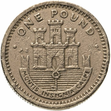 купить Гибралтар 1 фунт (pound) 1993