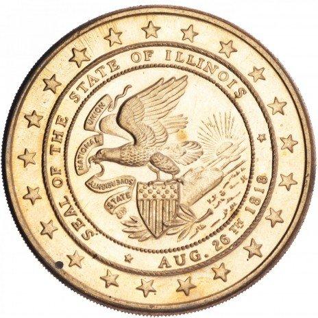 купить США жетон штат Иллинойс 1968