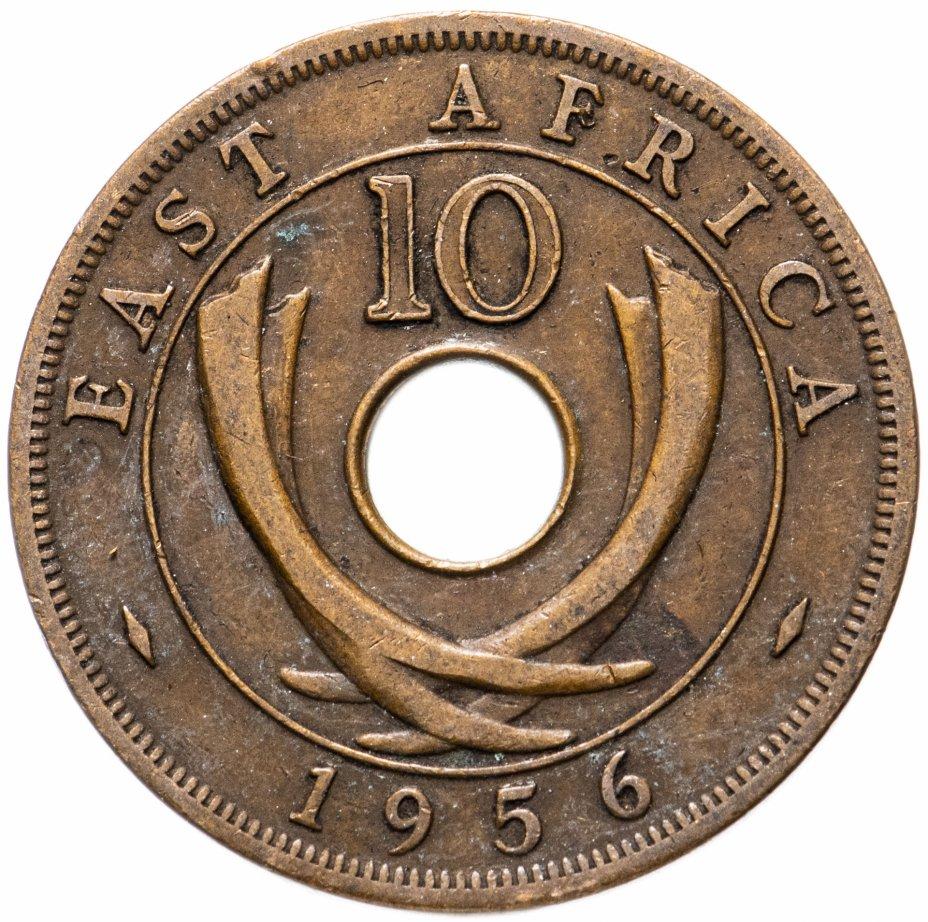 купить Британская Восточная Африка 10 центов (cents) 1956