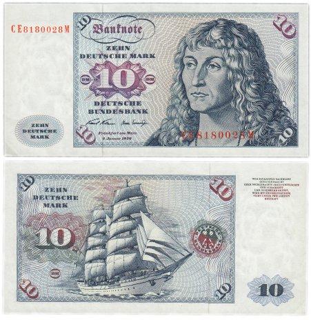 купить Германия ФРГ 10 марок 1970 (Pick 31a)