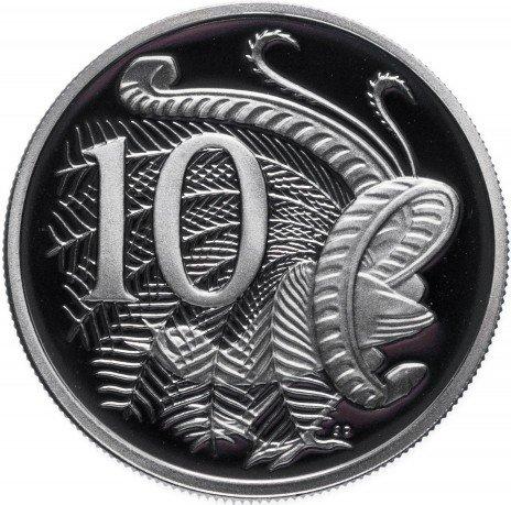 купить Австралия 10 центов 1989 Proof