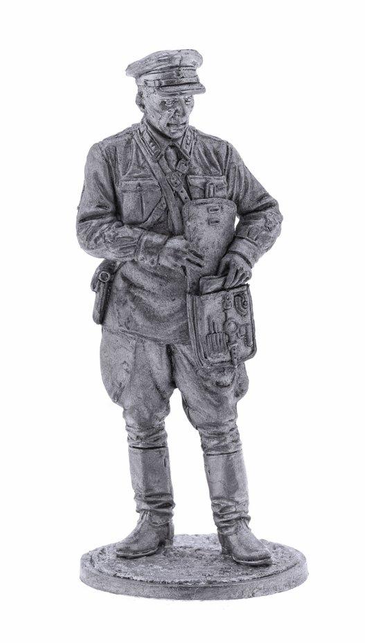 купить Оловянный солдатик, Политрук пехоты РККА. 1939-42 СССР, Россия, 2021