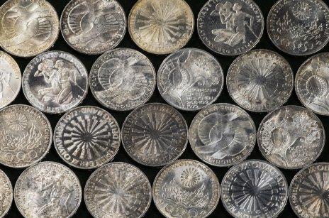 """купить ФРГ 10 марок 1972 случайная монета из серии """"XX Олимпиада в Мюнхене 1972г"""""""