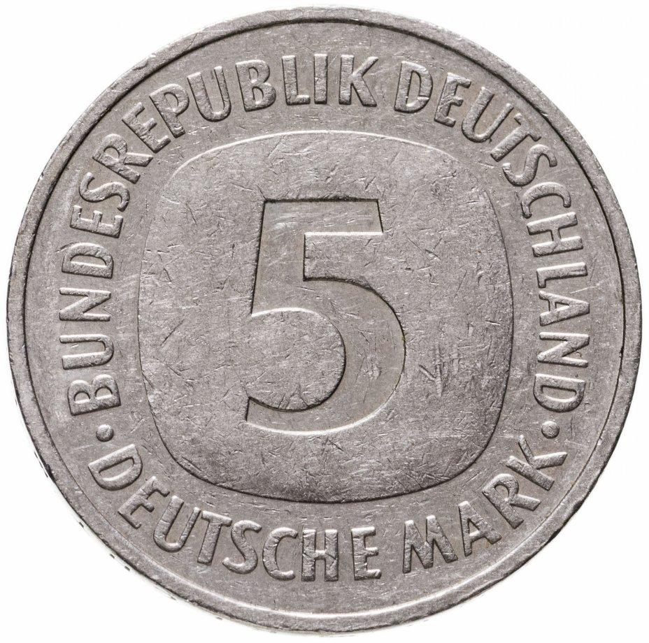 """купить Германия 5 марок 1982 D знак монетного двора: """"D"""" - Мюнхен"""