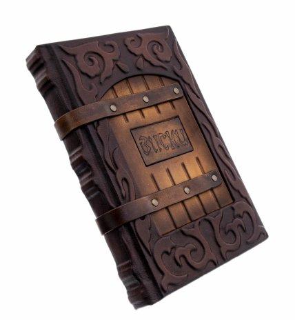 """купить Дэвид Вишарт """"Классификация виски"""", подарочное издание, издательство """"BBPG"""", кожаный переплет, бумага, авторская ручная работа, Россия, 2021 г."""