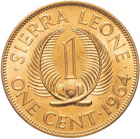купить Сьерра-Леоне 1 цент (cent) 1964