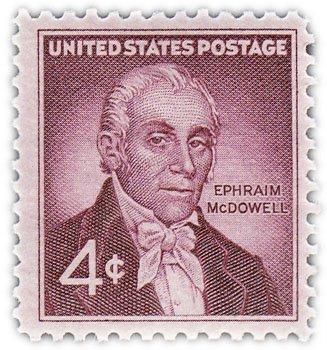 """купить США 3 цента 1959 """"Ифраим Мак Довел"""""""